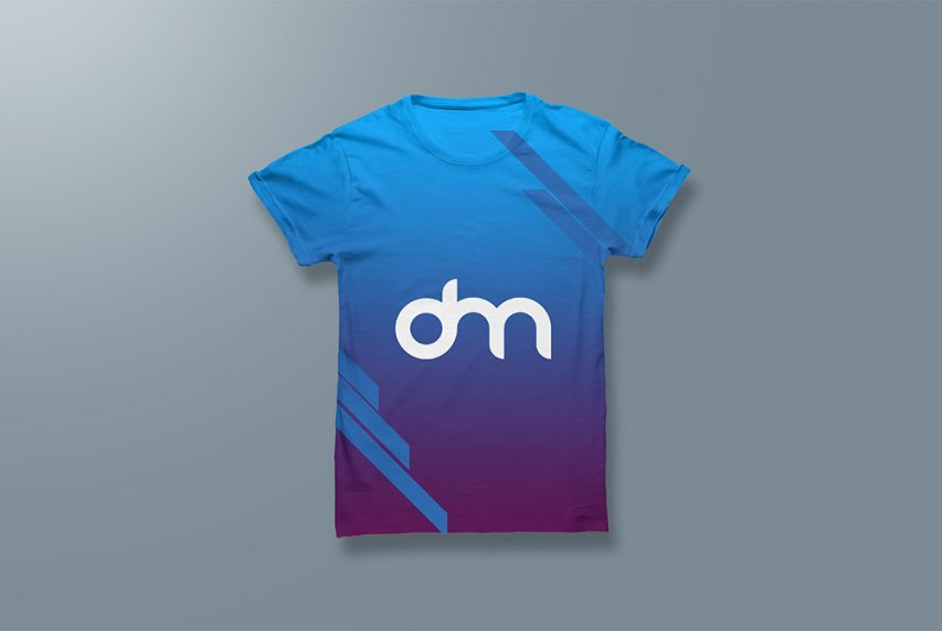 Men's T-shirt Mockup Template