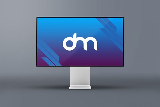 Apple XDR Display Mockup
