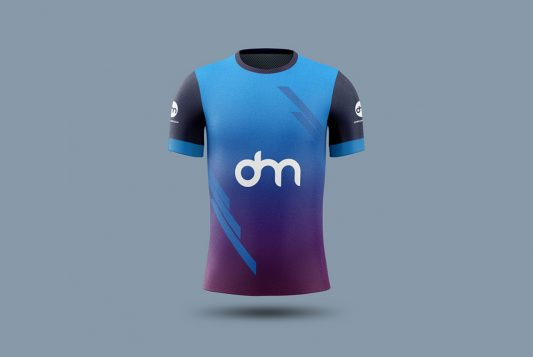 Soccer Jersey Mockup Template