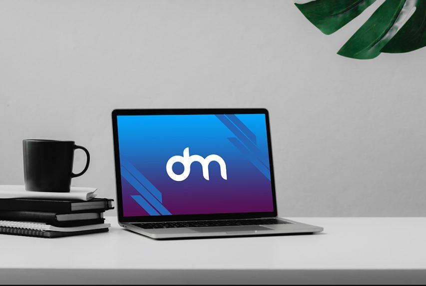 Clean Macbook Pro Mockup Template