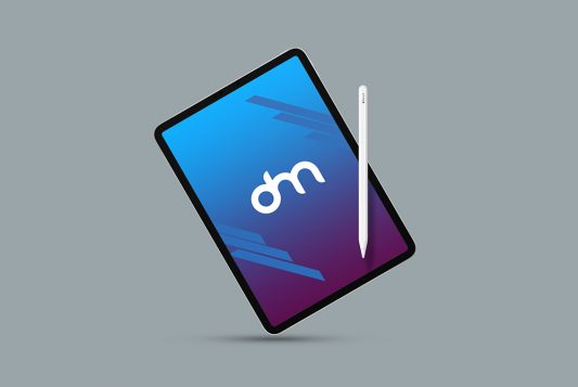 iPad Pro Mockup Template