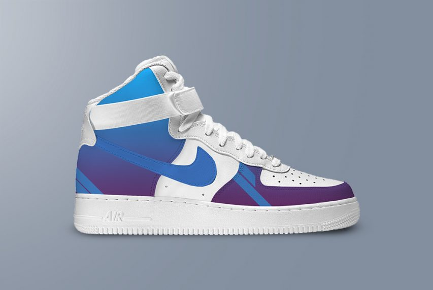 Nike Air Shoes Mockup Template