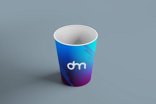 Paper Coffee Cup Branding Mockup