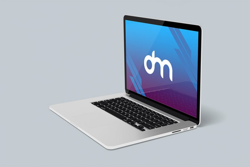 MacBook Pro Mockup PSD Template
