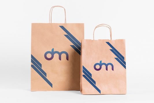 Paper Bag Branding Mockup Template