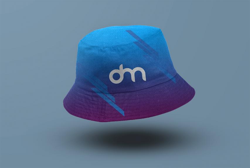 Bucket Hat Mockup PSD