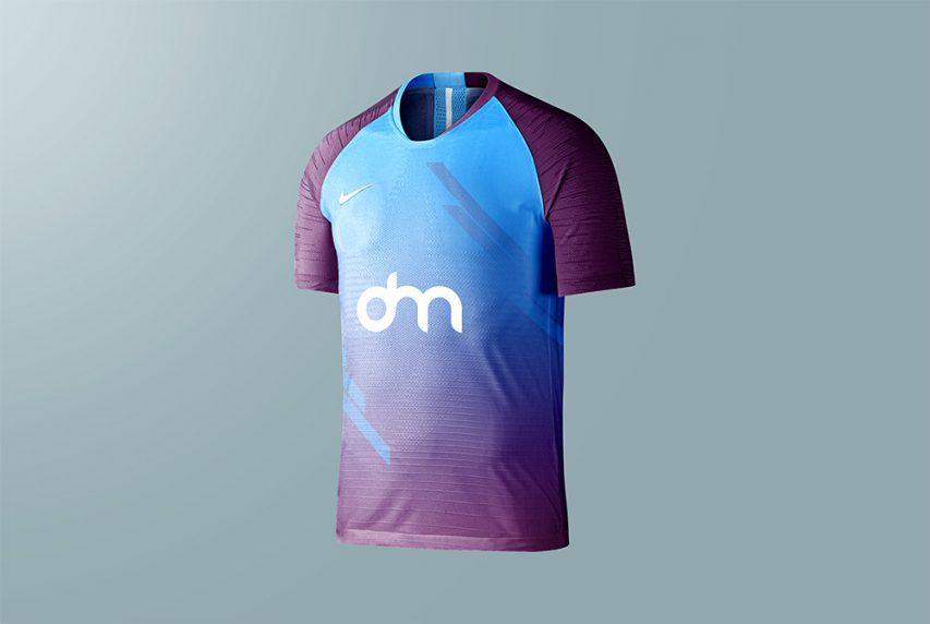 Sports Jersey Design Mockup Template