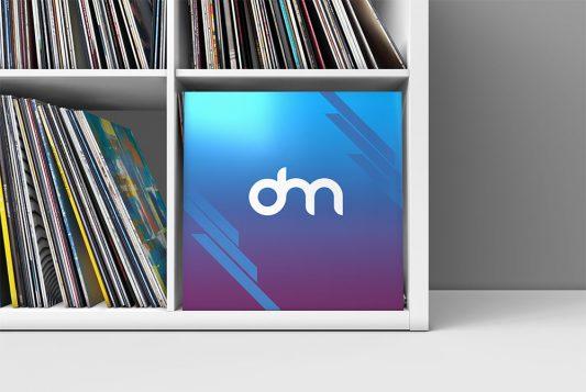 Vinyl Record Cover Mockup