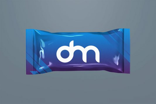 Free Snack Bar Packaging Mockup